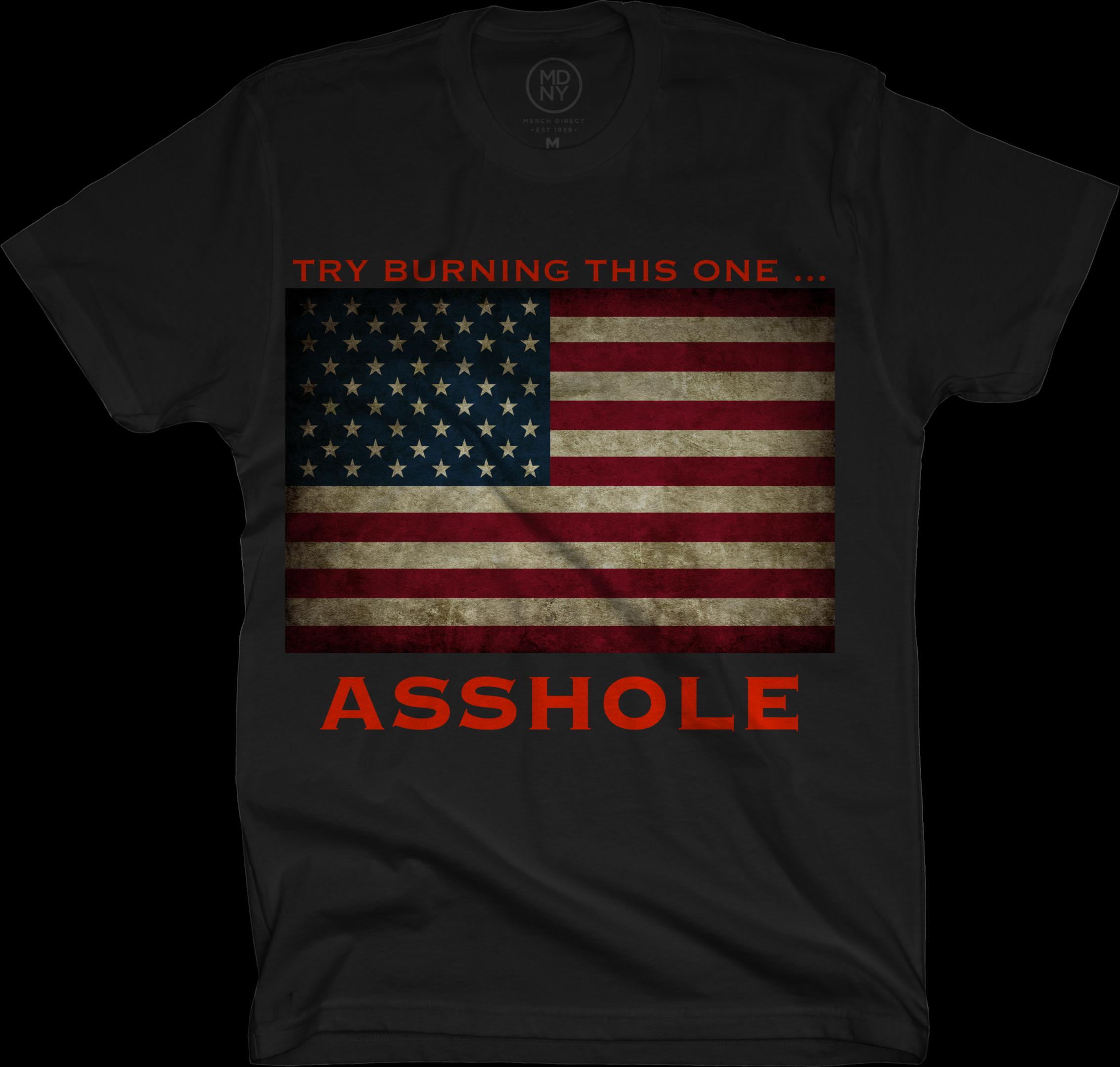 Burning ass hole