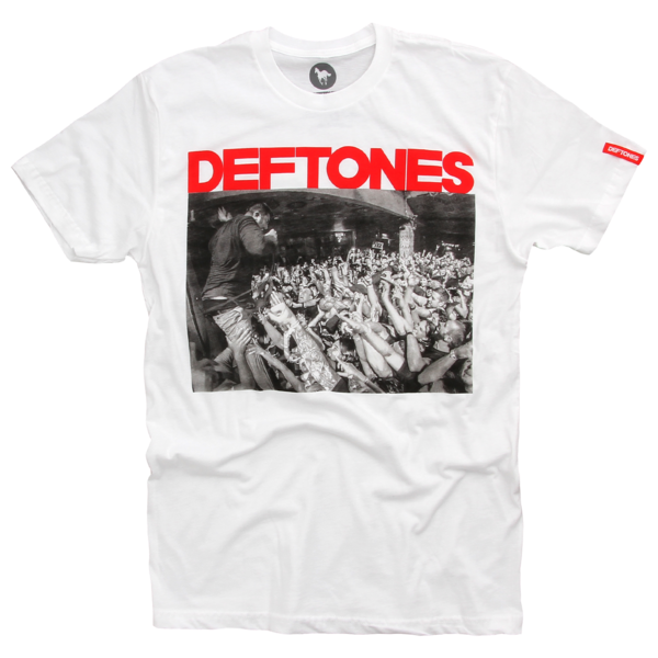 Chino Crowd Live White T-Shirt