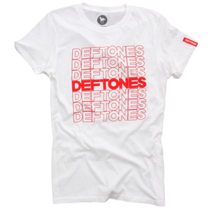 Thank You Deftones White Women's T-Shirt
