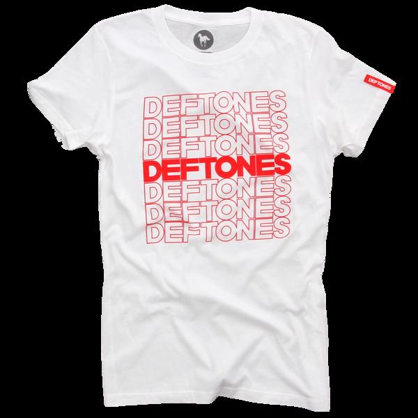 Thank You Deftones White Women's T-Shirt
