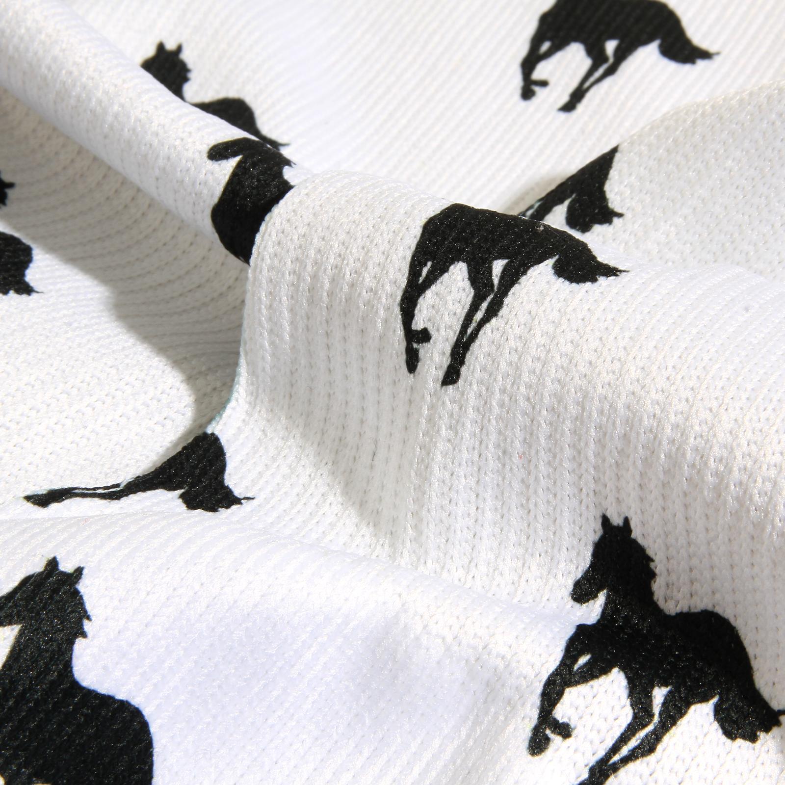 Ponies Ponies Ponies Dye Sub Sock