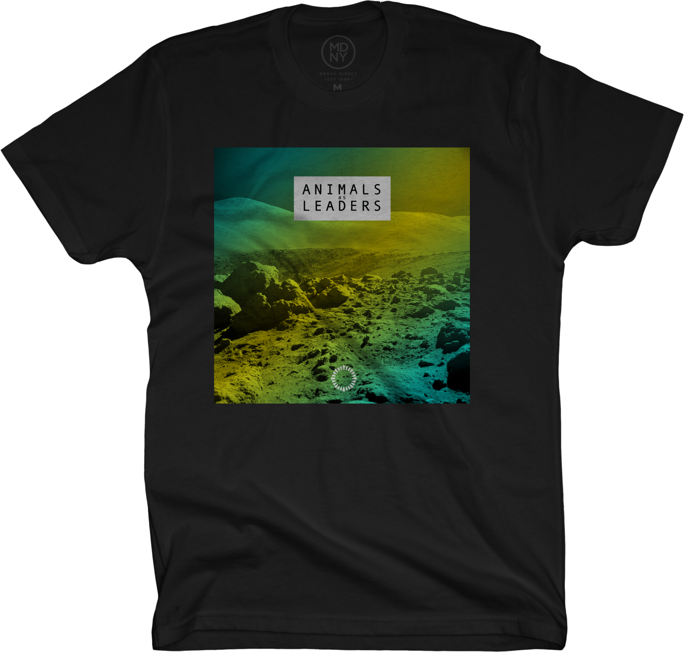 Mars on Black T-Shirt