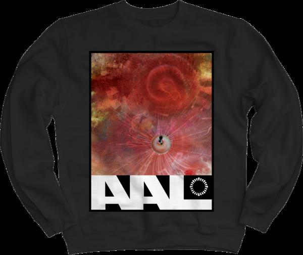 Nebula Black Crewneck Sweatshirt