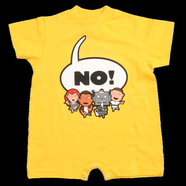 NO! Kids on Yellow Onesie