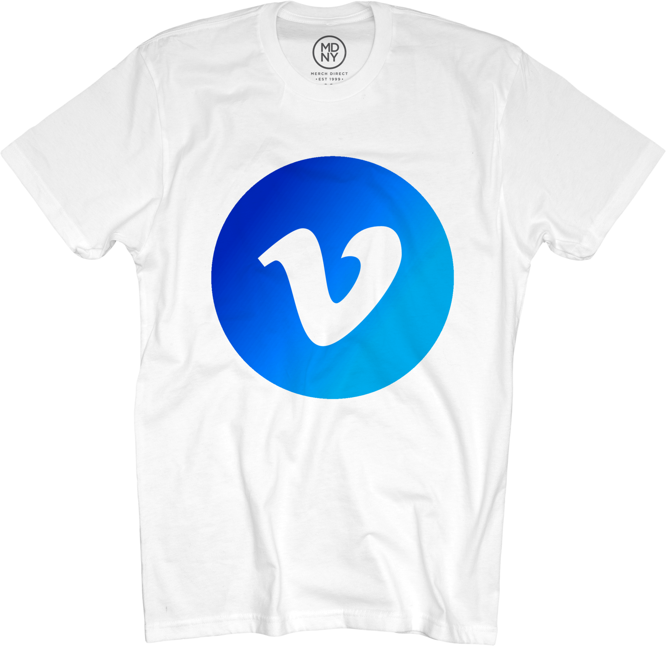 Vimeo Goods - Classic Blue Logo Tee