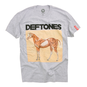 Skinned Pony Heather Grey T-Shirt