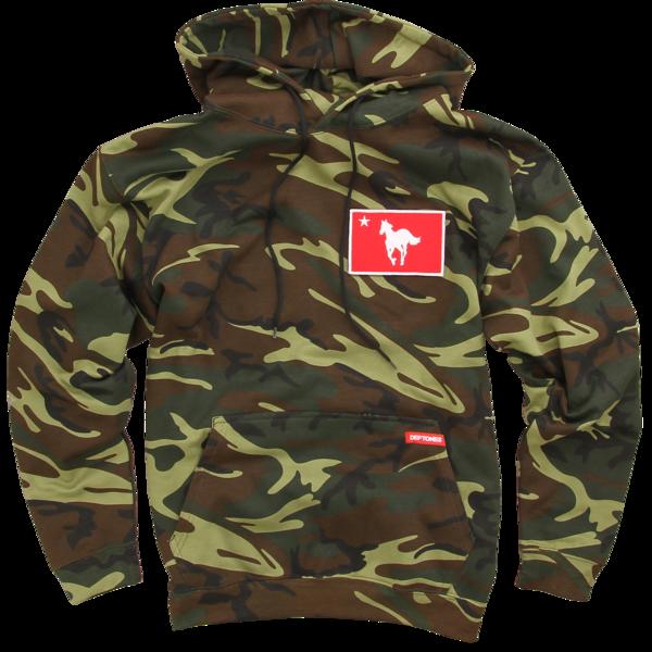 Pony Camo Pullover Sweatshirt