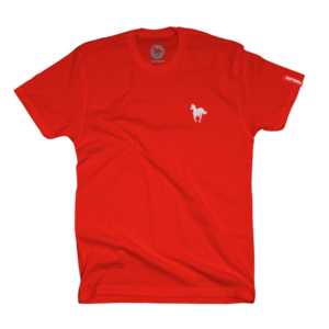 Left Chest Pony Red T-Shirt
