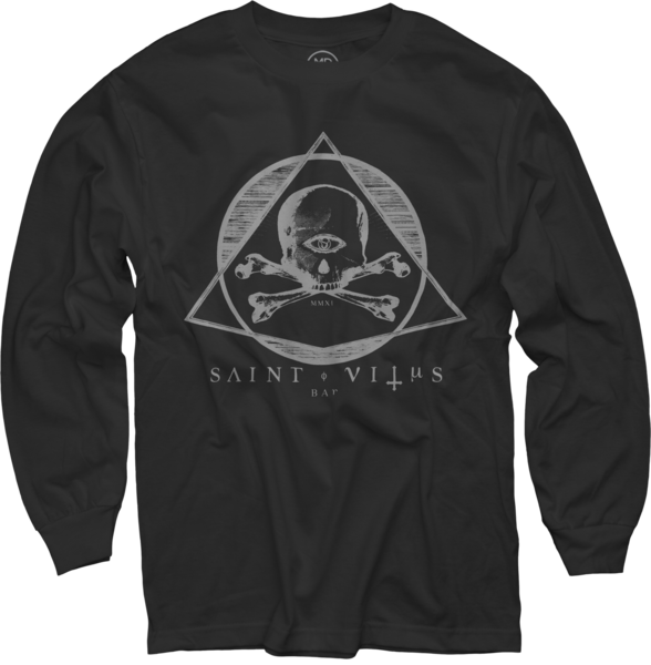 Saint Vitus Black Long Sleeve T-Shirt