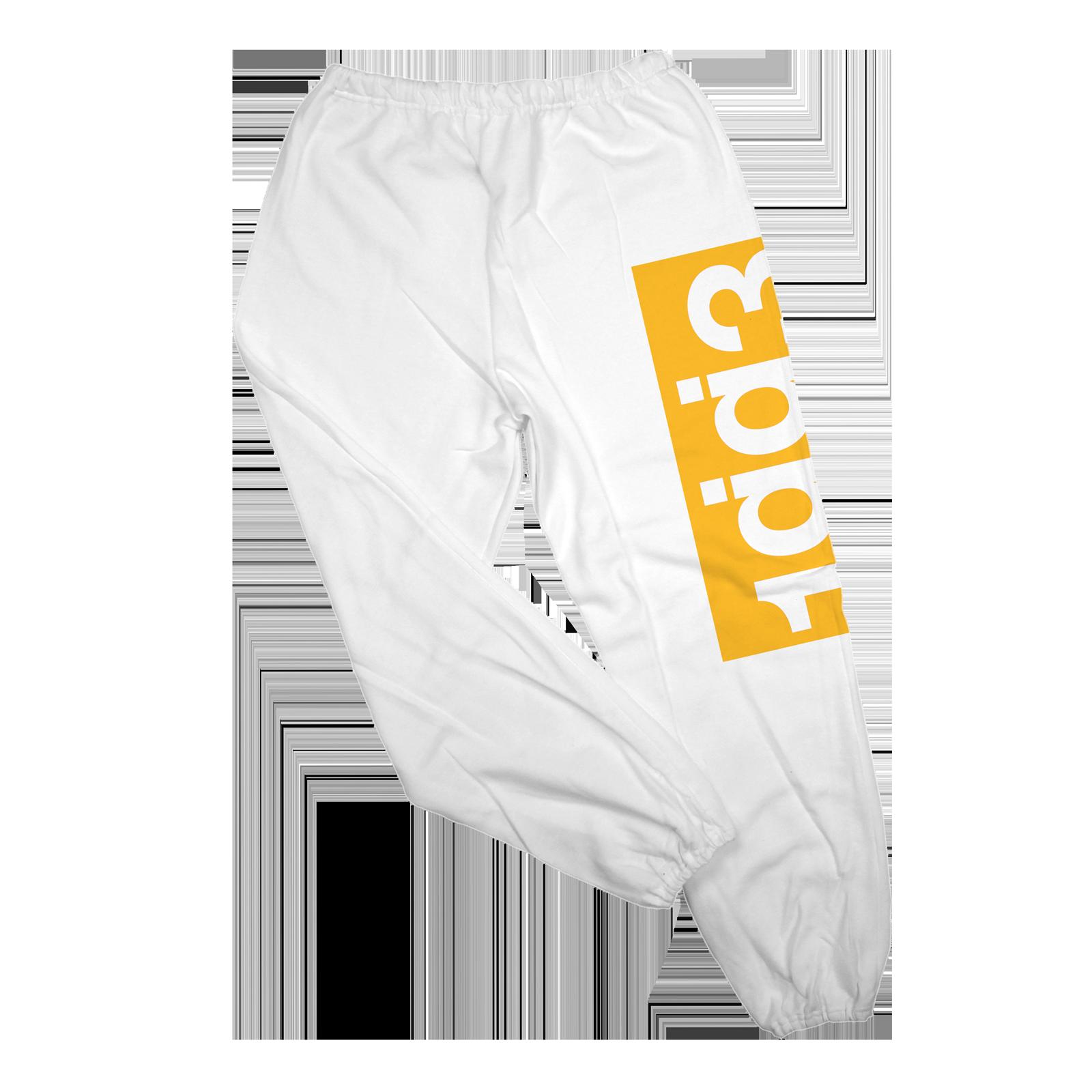 KKBB 1gg3 white sweatpants
