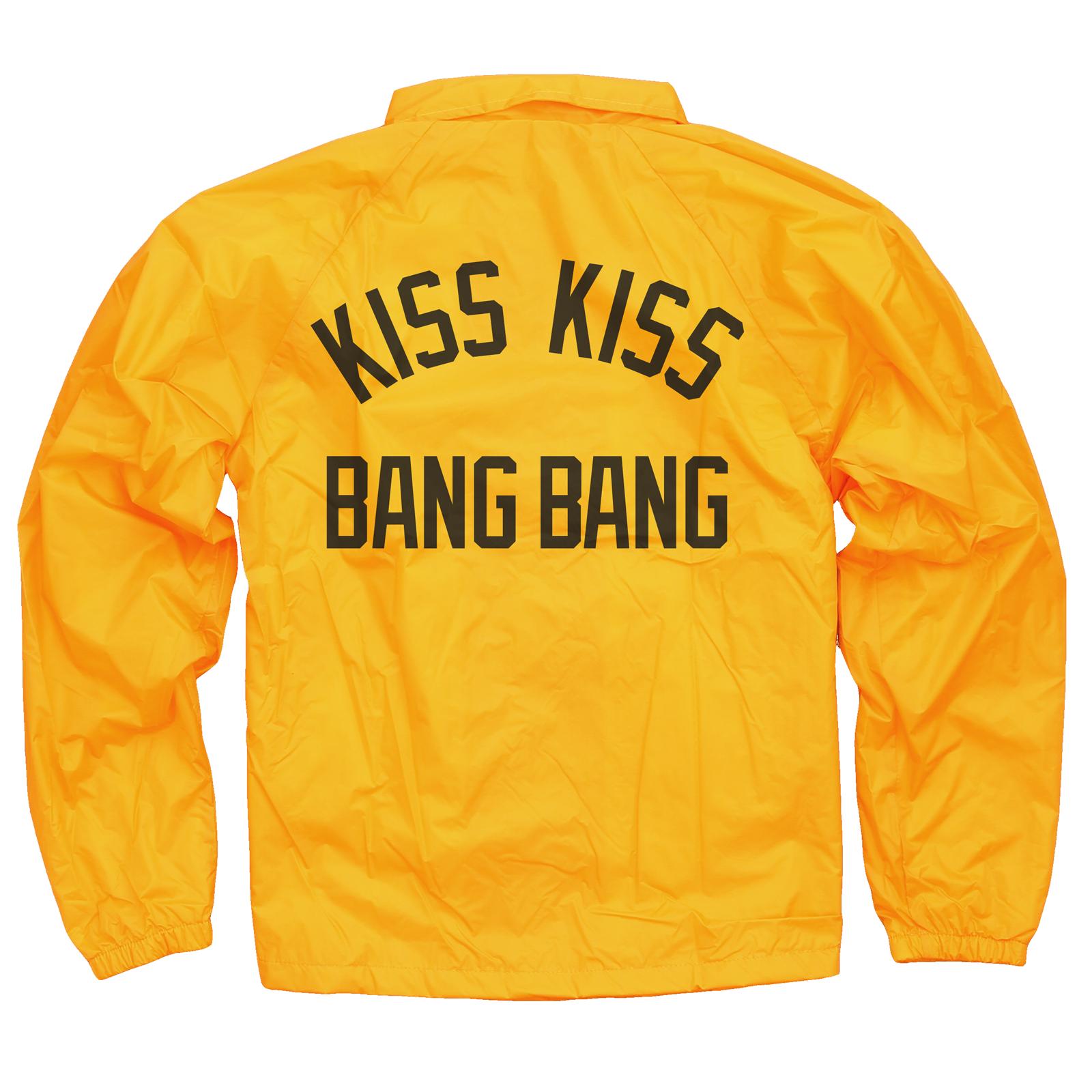 KKBB gold coaches jacket