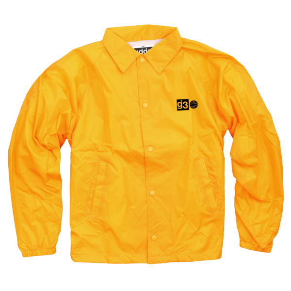 KKBB gold coaches jacket