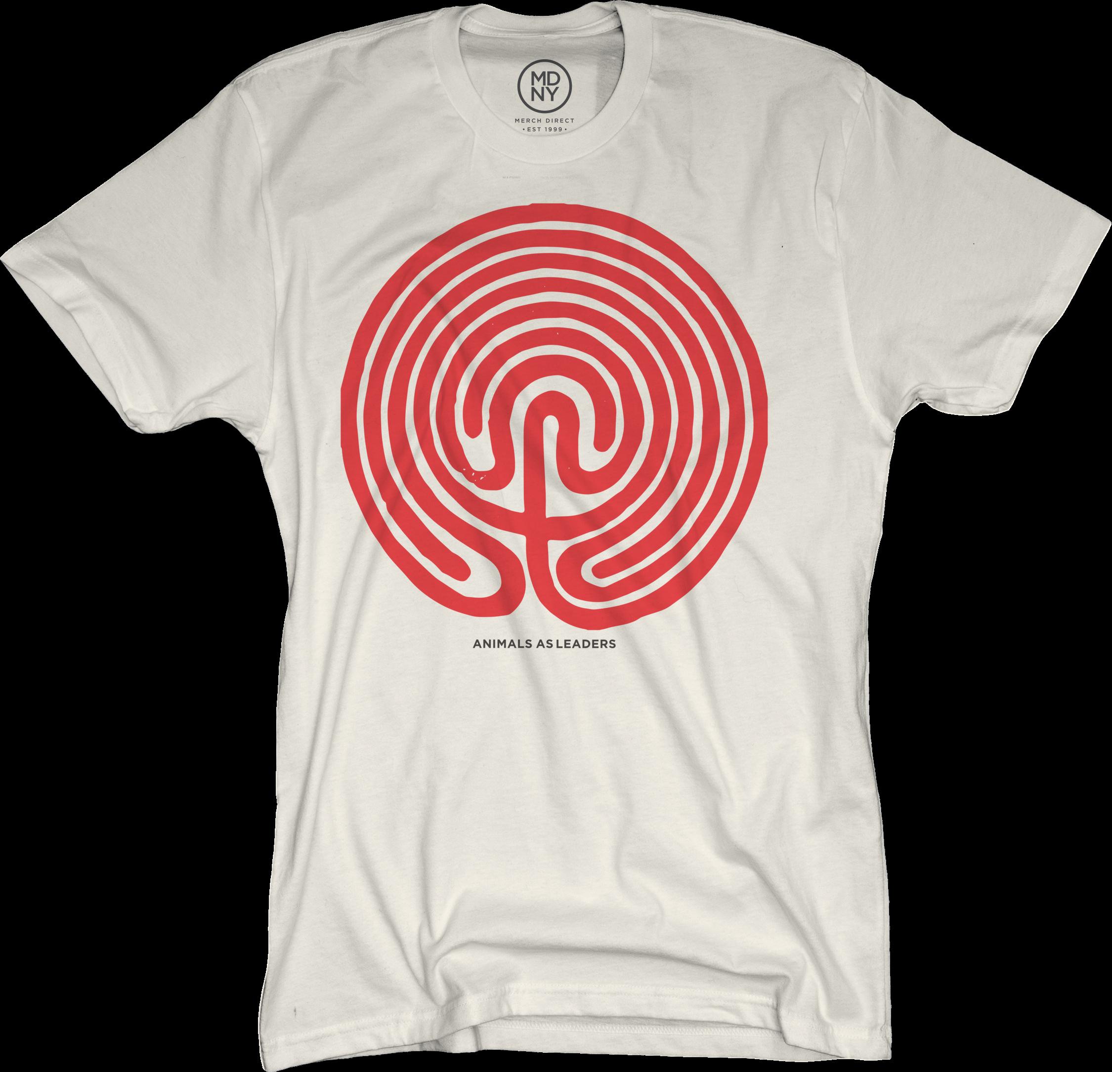 Lines Natural T-Shirt