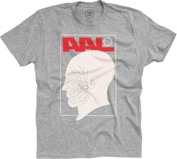 Side Burns Heather Grey T-Shirt