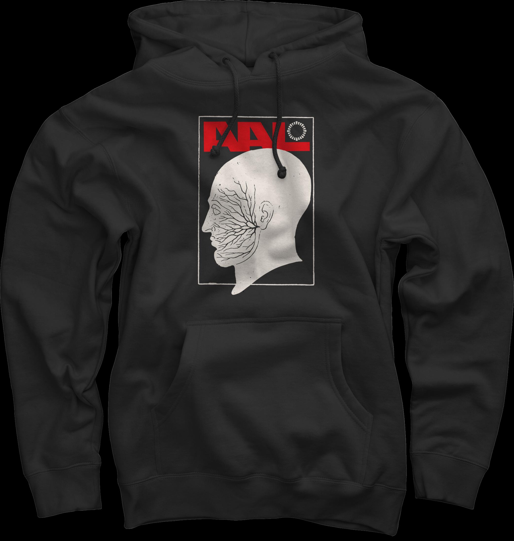 Side Burns Black Pullover Sweatshirt