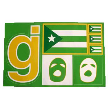 GJ Sticker Sheet