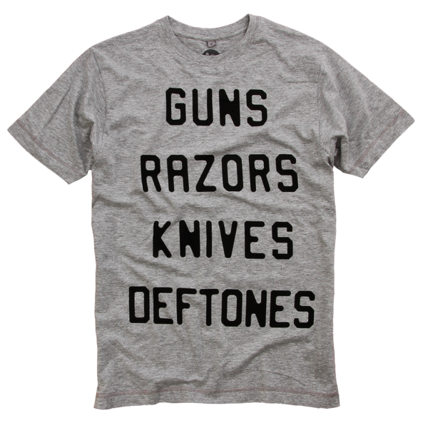 GRK Deftones Heather Grey T-Shirt