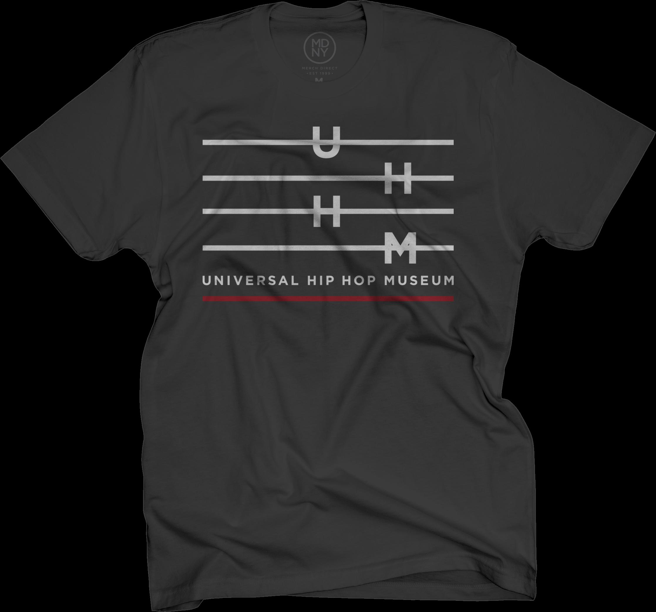 UHHM Black T-Shirt