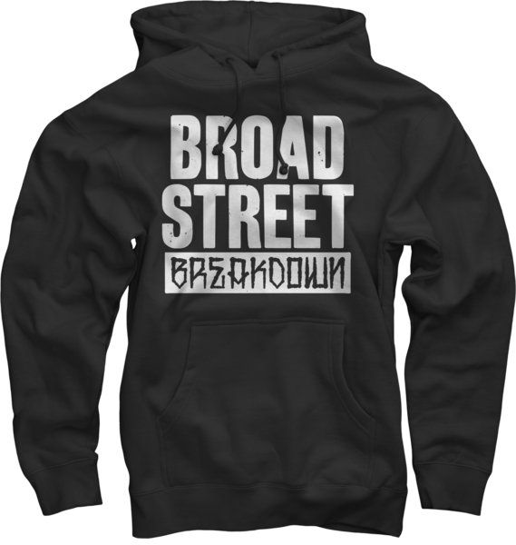 Broad Street Breakdown Pullover Sweatshirt