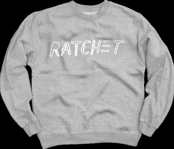 Ratchet Heather Grey Crew Neck