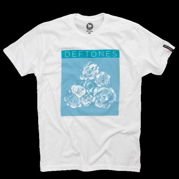 Roses White T-Shirt