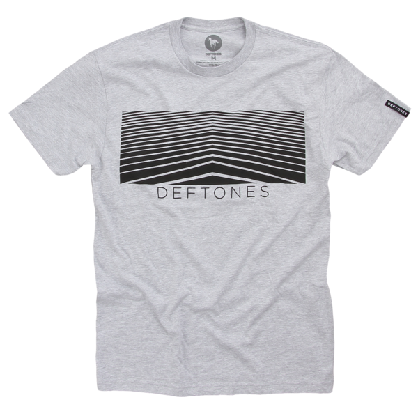 Lines Heather Grey T-Shirt