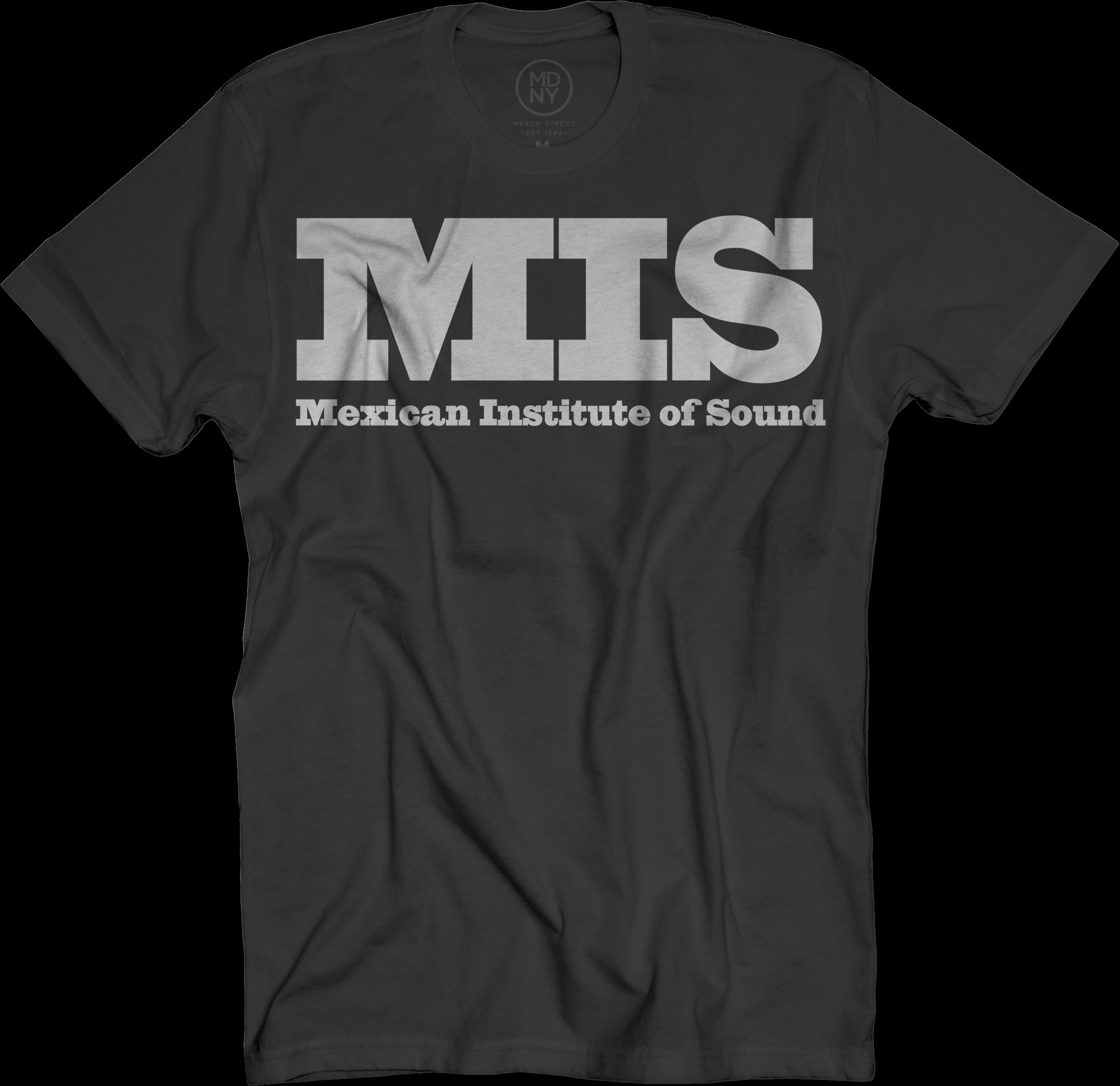 MIS Mejico Maxico Logo T-shirt - Black