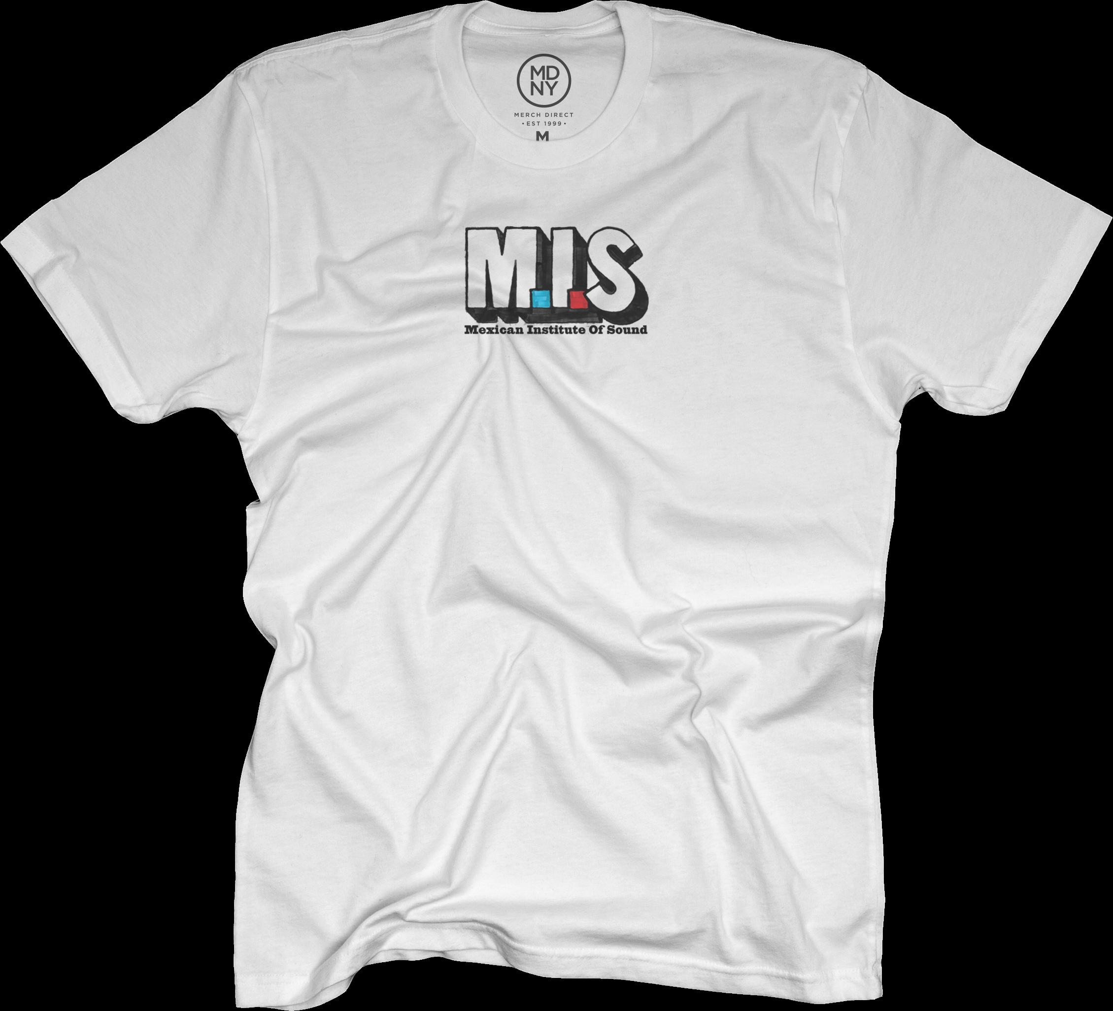 MIS Soy Sauce Logo T-shirt - White