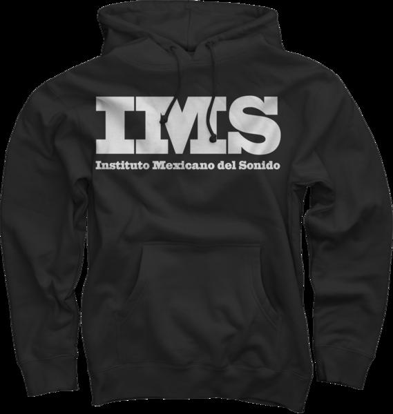 IMS Mejico Maxico Logo Hoodie - Black