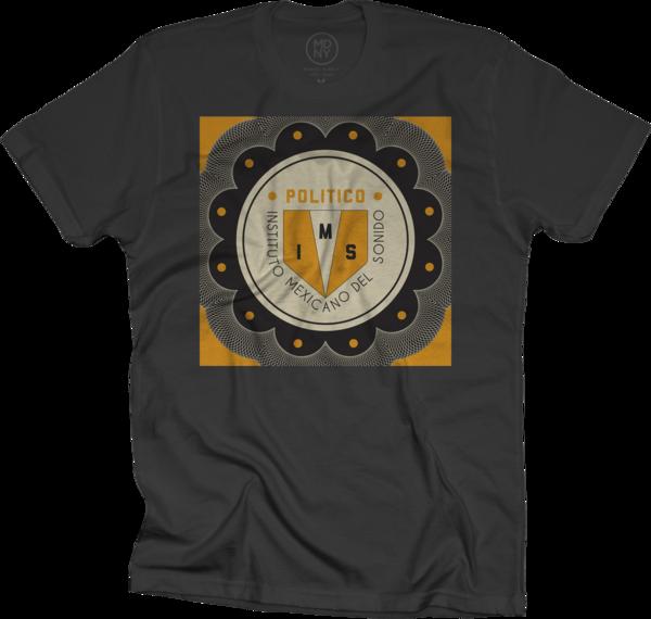 IMS Politico Alt Logo T-shirt - Black