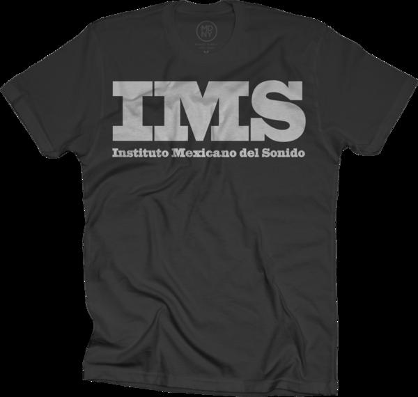 IMS Mejico Maxico Logo T-shirt - Black