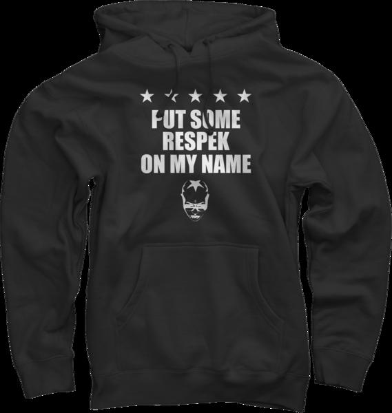 Respek Black Pullover Sweatshirt