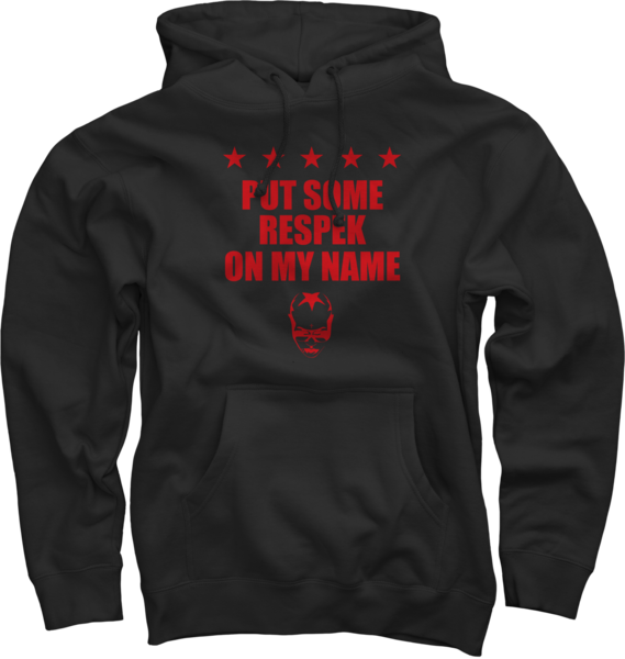 Respek Red/Black Pullover Sweatshirt