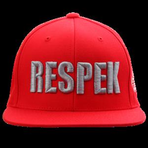 Respek Red Snapback