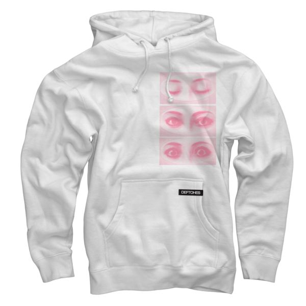 Eyes White Pullover Sweatshirt