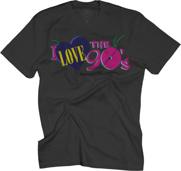 Classic Logo on Black T-Shirt