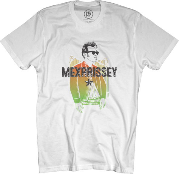 Mexrrissey Logo T-shirt - White