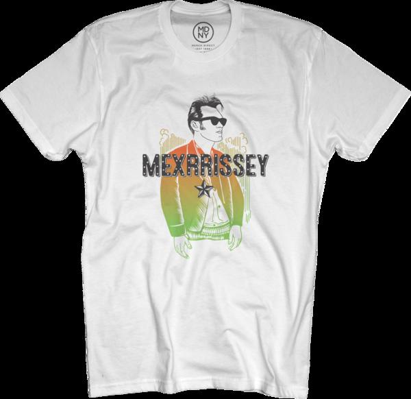 Mexrrissey Logo T-shirt - White