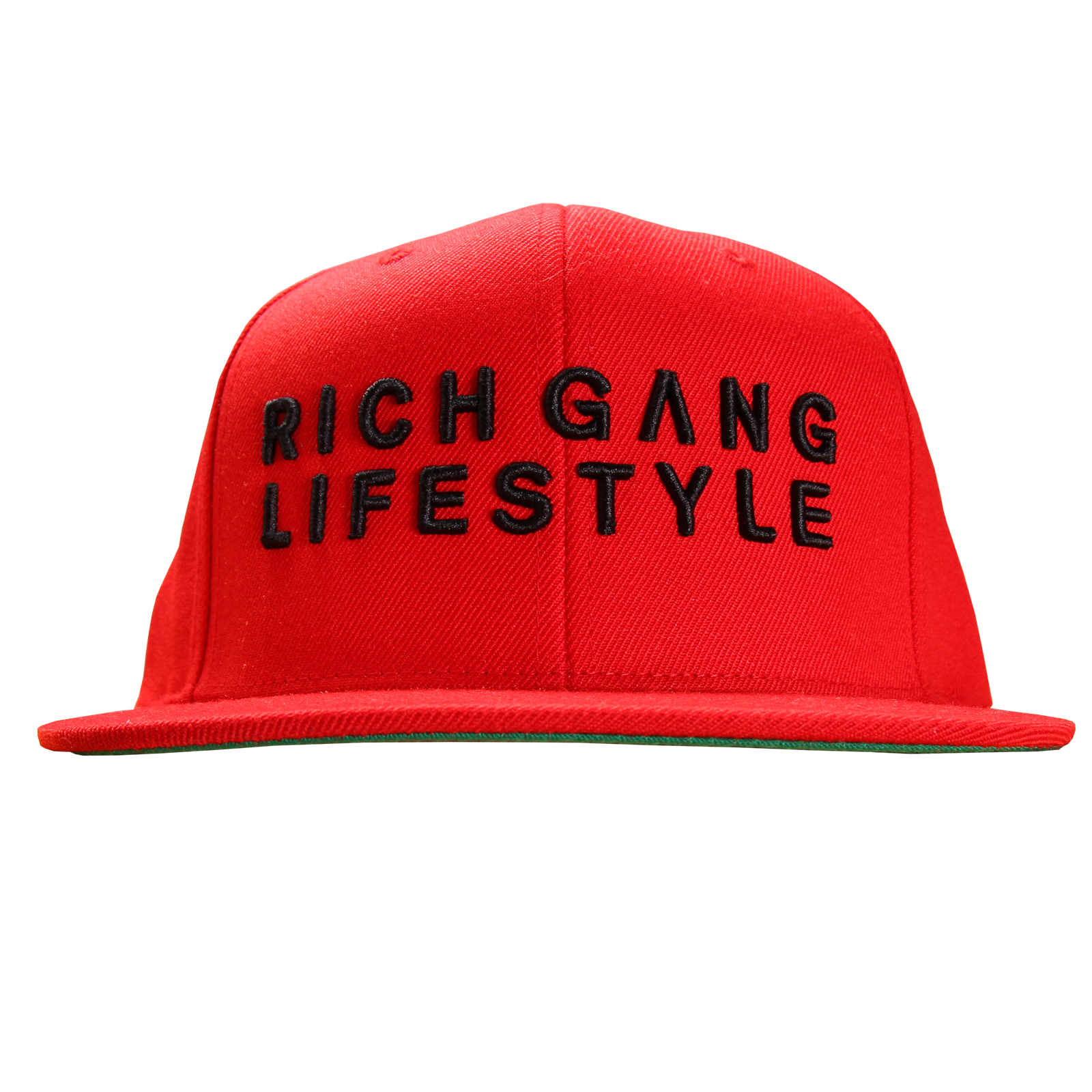 Rich Gang Lifestyle Red Snapback