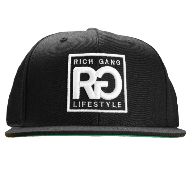 Rich Gang Lifestyle Black Snapback