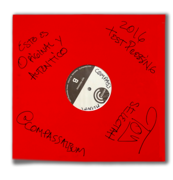 Compass Signed Test Pressing (LP)