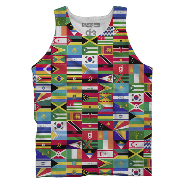GJ World Wide Tank Top