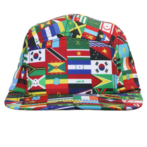 GJ World Wide 5 Panel Hat