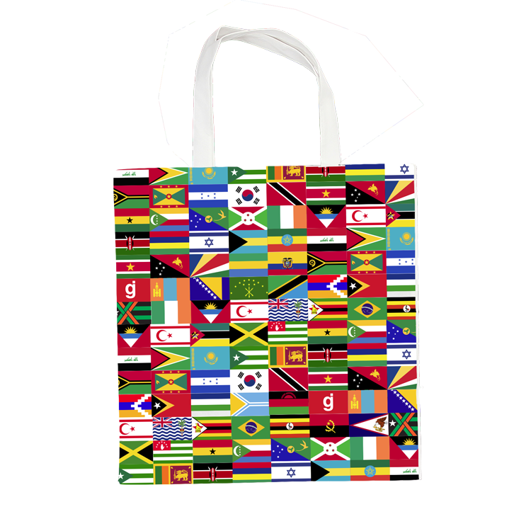 GJ World Wide Tote Bag