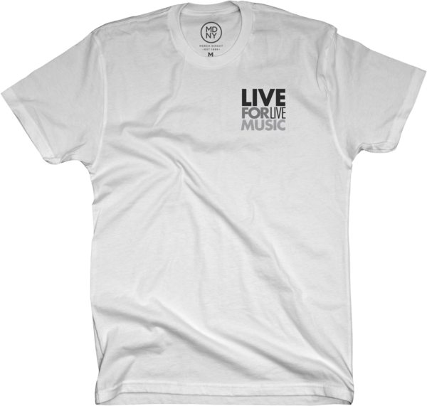 Men's White Soft Tee