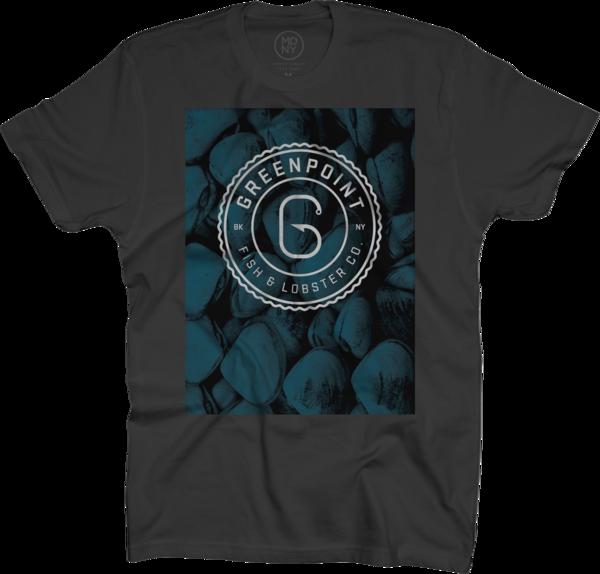 Clams Logo, T-Shirt, Black