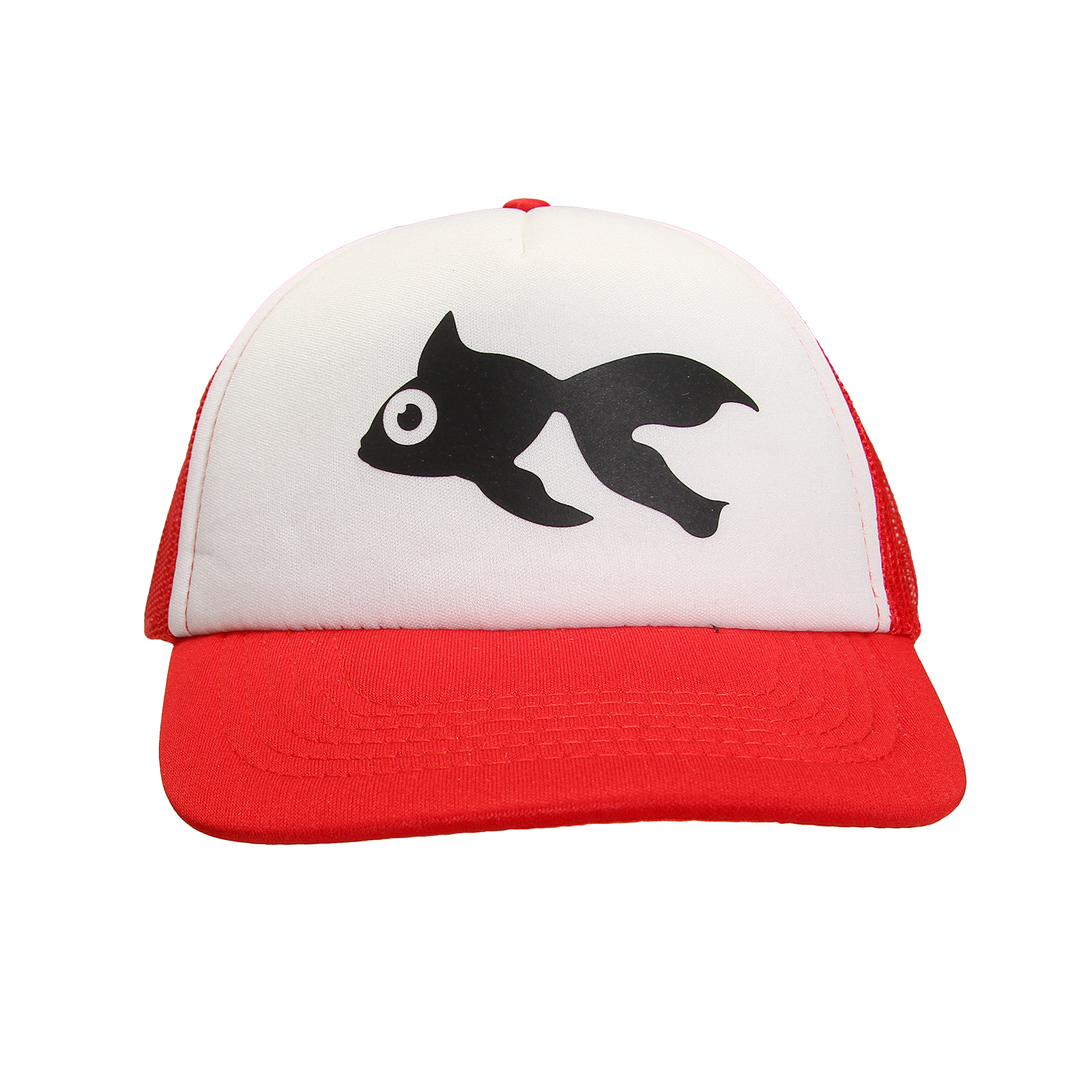 Red and White Trucker