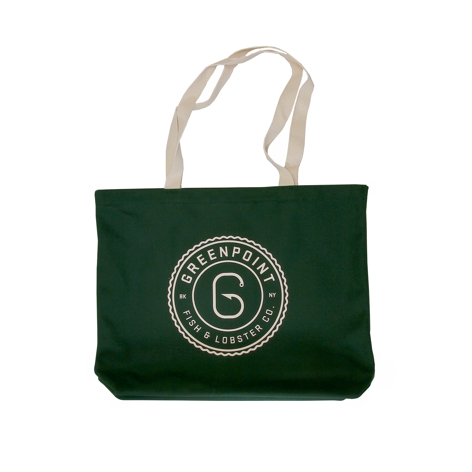 1ee43934d7 Greenpoint Fish   Lobster Co. - Greenpoint Heavyweight Tote Bag