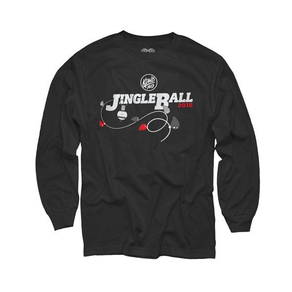 KDWB 101.3 Jingle Ball Youth Black Long Sleeve