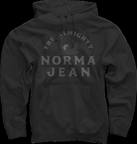 Almighty Black Pullover Sweatshirt